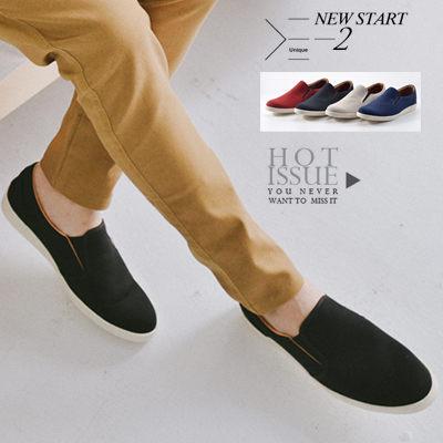 柒零年代【N9292J】韓系質感百搭簡約素面懶人鞋休閒鞋(B1016)genial