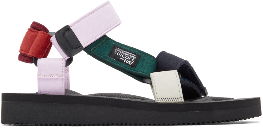 Suicoke 多色 Hay 联名 DEPA MIX H 凉鞋