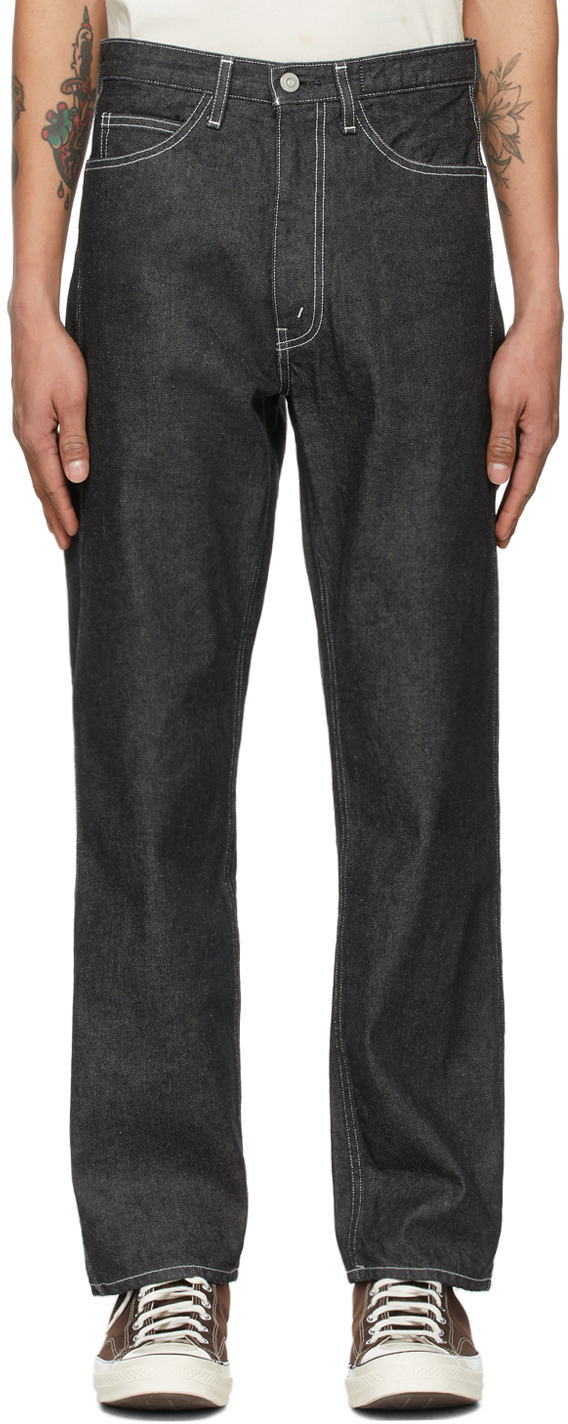 Kuro 黑色 Anders Workers 牛仔裤