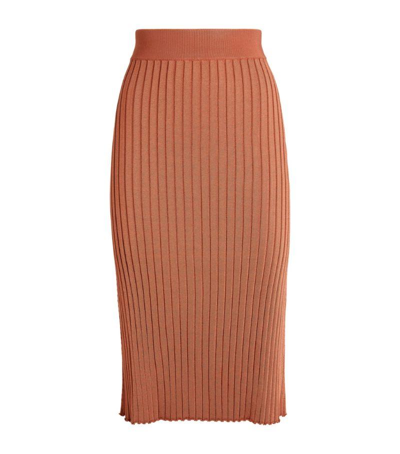 Partow Sophie Knit Midi Skirt