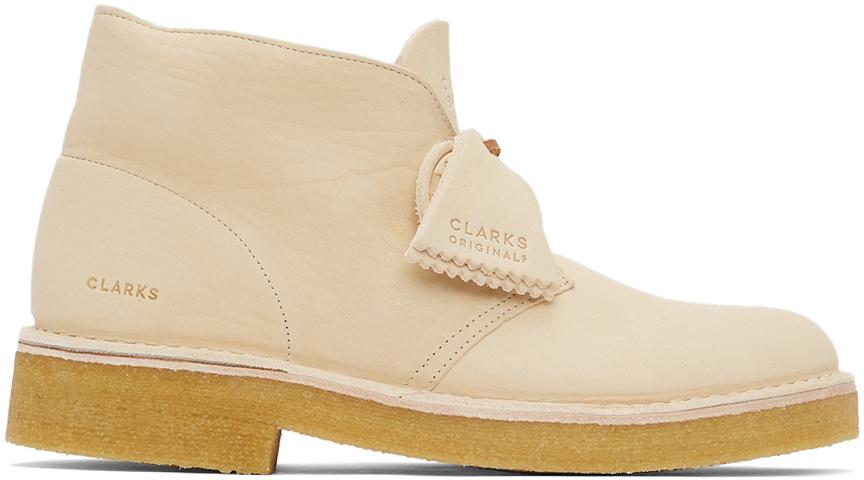 Clarks Originals 灰白色 221 沙漠靴