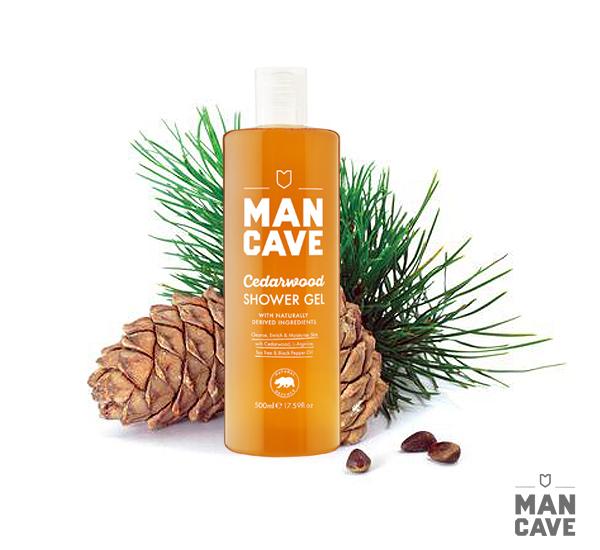Man Cave Cedarwood Shower Gel雪松沐浴精(500ML)