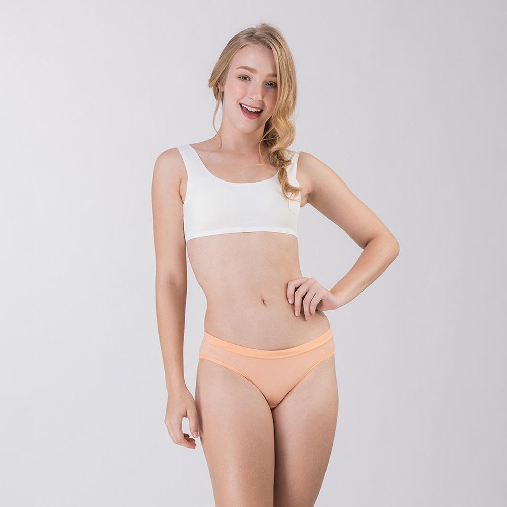 Pure5.5-性感美臀超低腰女三角褲-粉嫩橘 (商品編號:V0700144)