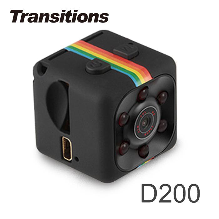 全視線 D200 迷你骰子型 Full HD 1080P 記錄器【APP限定】