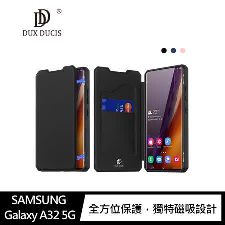 DUX DUCIS SAMSUNG Galaxy A32 5G SKIN X 皮套 #手機殼 #保護殼 #保護套 #磁吸 #可立支架