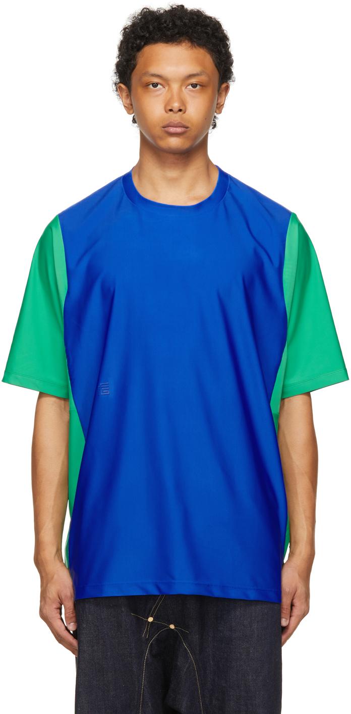 Fumito Ganryu 蓝色 & 绿色 XXXL Rebuilt T 恤