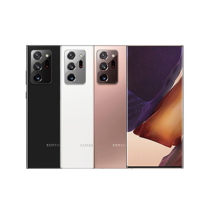 SAMSUNG Galaxy Note 20 Ultra 6.9吋 12G/256G八核雙卡5G旗艦極限全螢幕手機▼官網登錄
