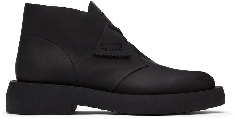 Clarks Originals 黑色 Mileno 沙漠靴