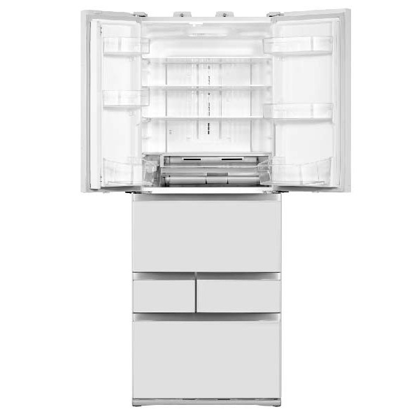TOSHIBA東芝 509L 玻璃白 無邊框玻璃六門變頻電冰箱 GR-ZP510TFW(UW)