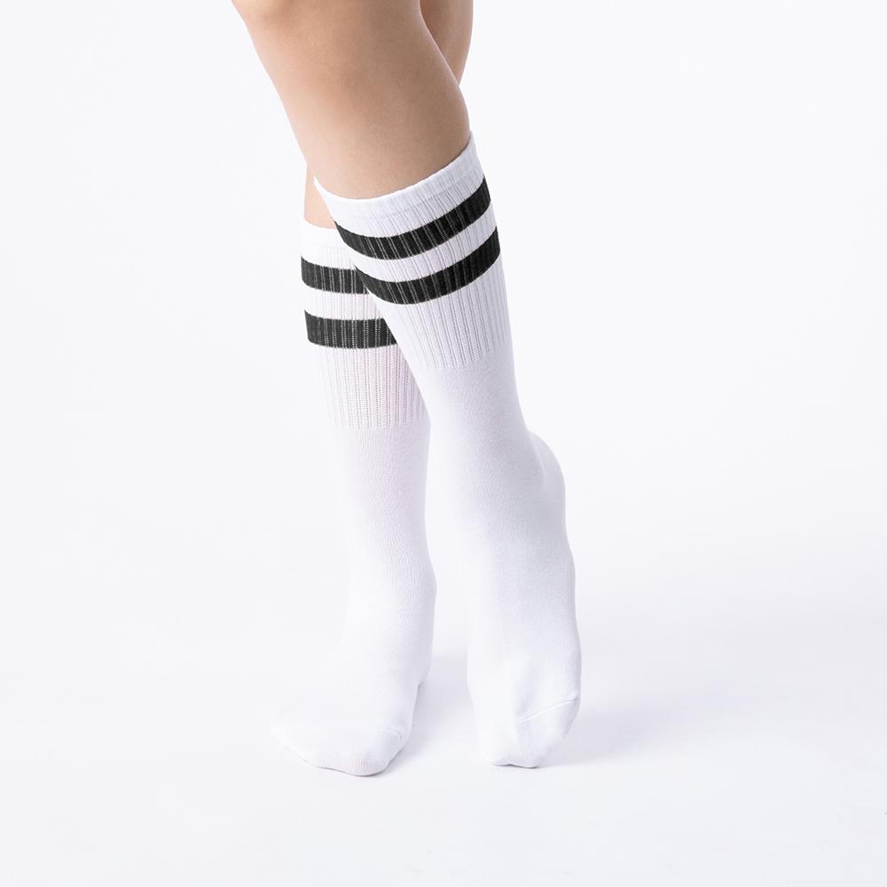 愛的主張雙線襪-神秘黑(商品編號:S0407411L)