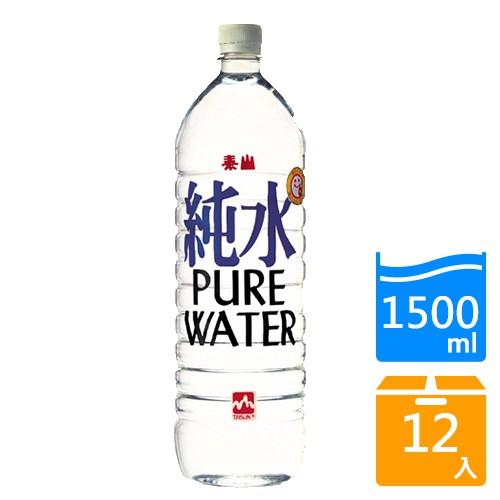 泰山純水1500mlx12/箱【愛買】