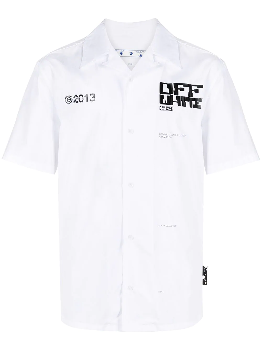 OFF WHITE Arrows-print cotton shirt