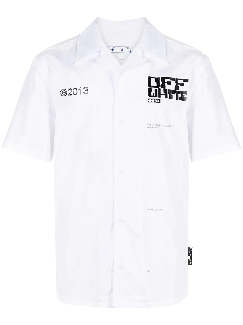 OFF WHITE Arrows-print cotton shirt