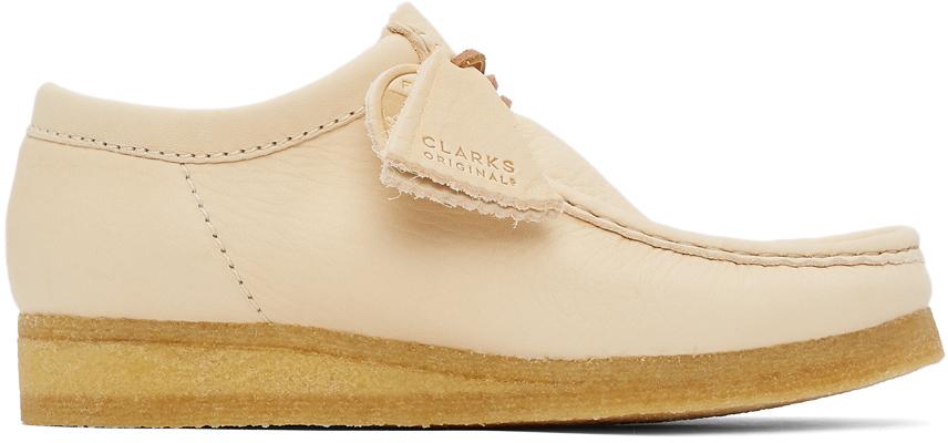 Clarks Originals 驼色 Wallabee 莫卡辛鞋