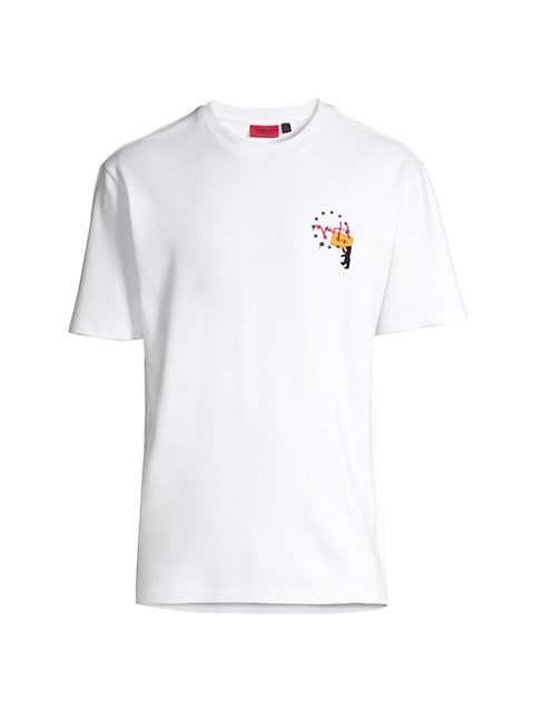 Dunity Embroidered Logo T-Shirt
