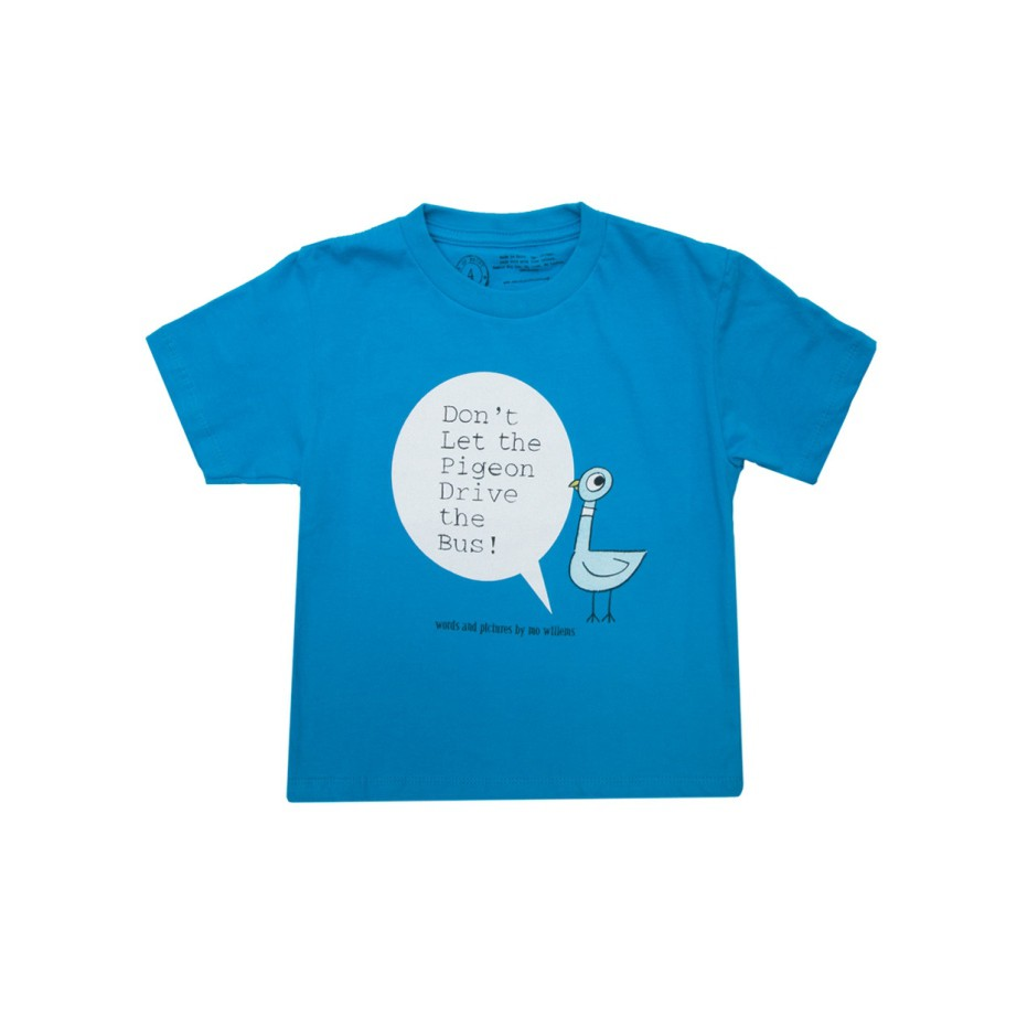 Don't Let The Pigeon Drive The Bus 別讓鴿子開巴士T-Shirt(尺寸6yr-7y)
