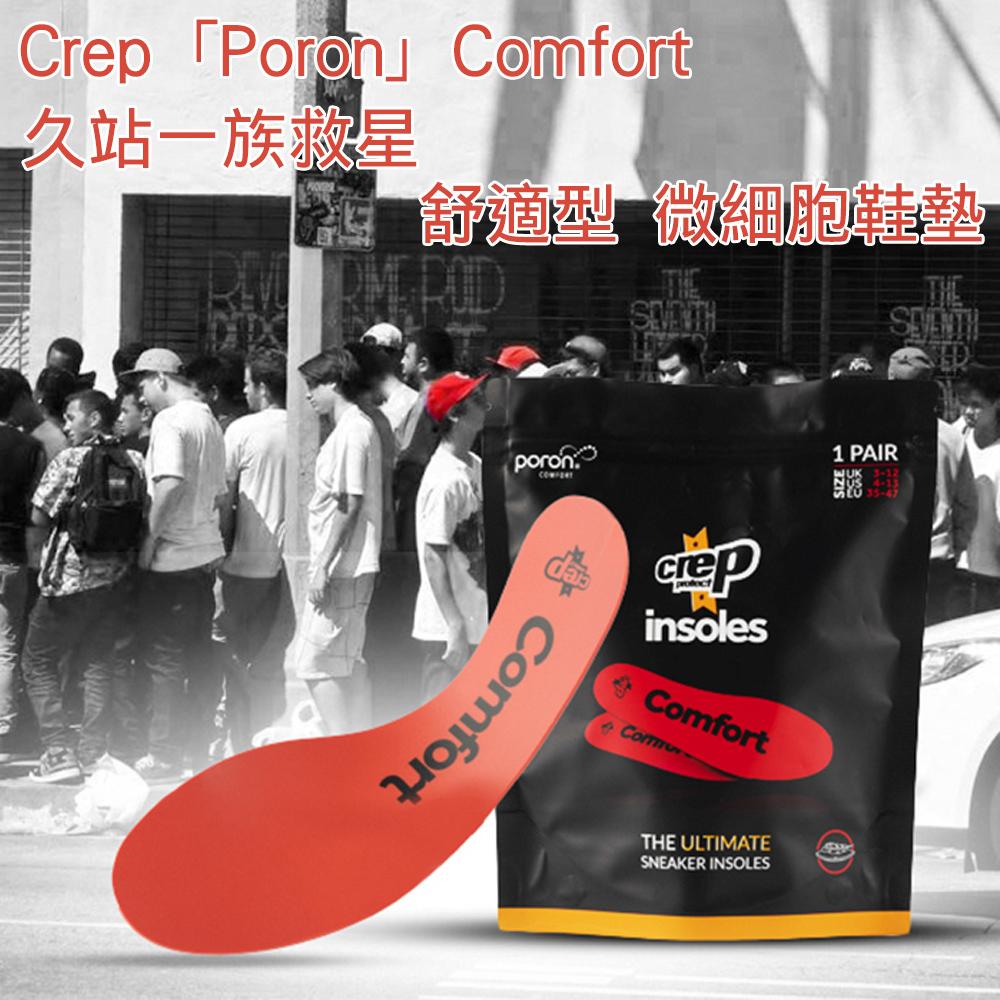 Crep「Poron 」Comfort 舒適型 微細胞鞋墊