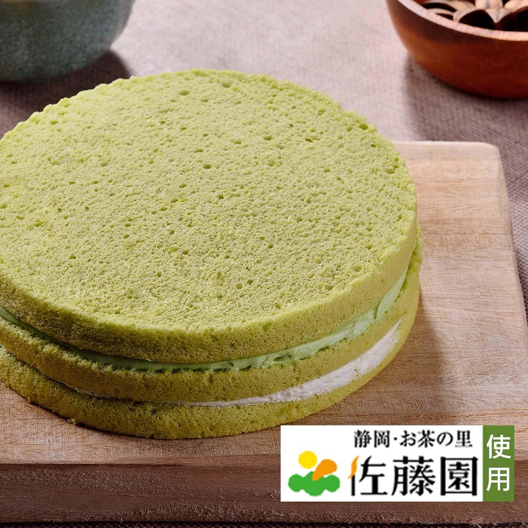 抹茶天使蛋糕1入(5吋)【杏芳食品】