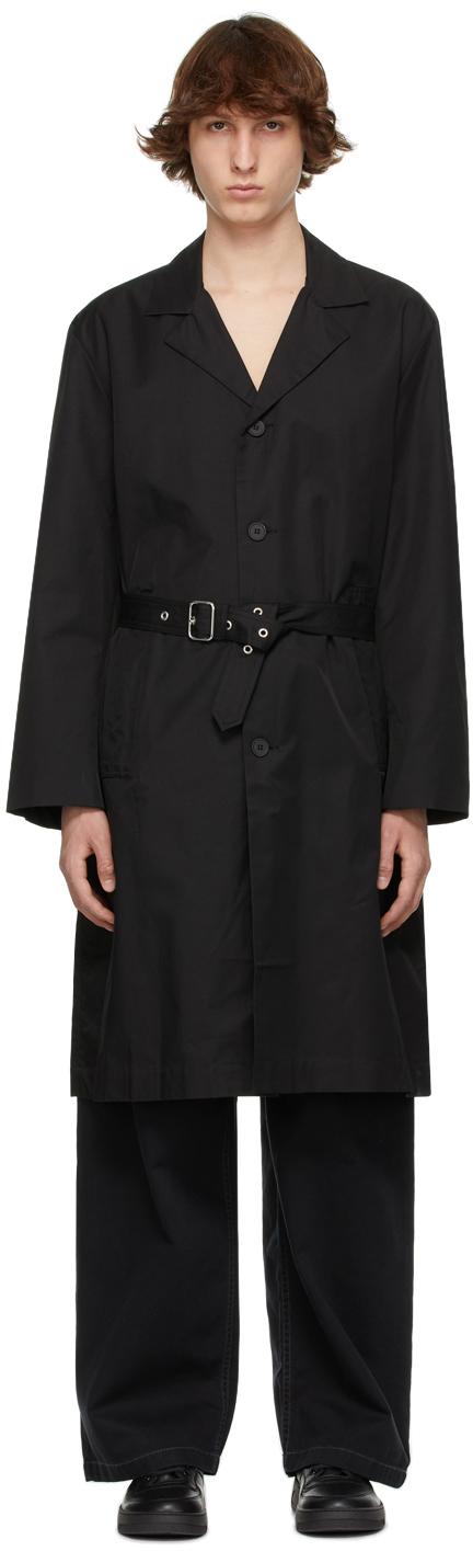 Schnayderman's 黑色束带风衣