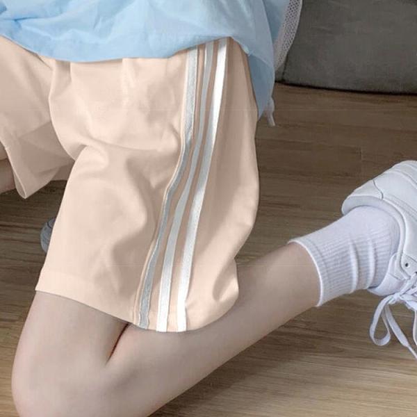 【Charm Beauty】短褲女 夏裝 寬鬆 韓版 高腰 運動 休閑 百搭 2021新款 居家 瑜伽睡褲 潮ins