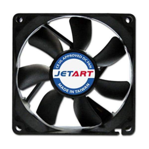 JETART 8公分靜音直流風扇(DF8025P)