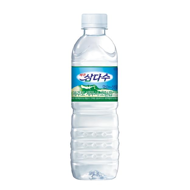 韓國濟州SamDaSoo火山岩盤礦泉水  *團購*20入【康是美】