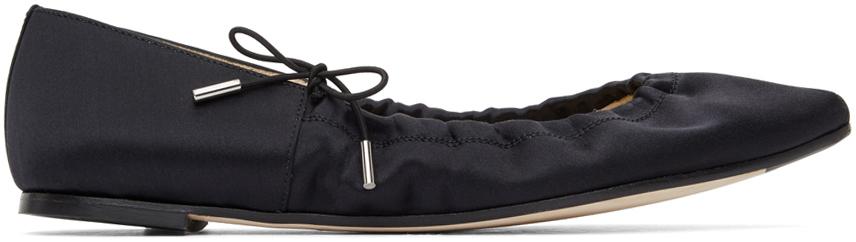 Repetto 黑色 Regina 芭蕾鞋