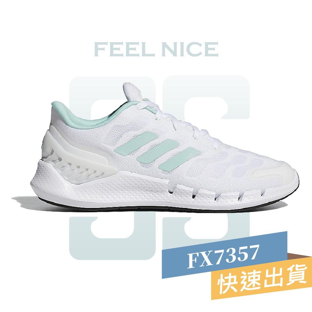 ADIDAS CLIMACOOL VENTANIA 白 綠 女款 休閒 運動 慢跑鞋 FX7357