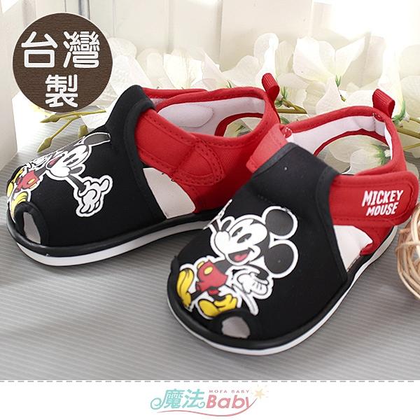 幼童鞋 台灣製迪士尼米奇授權正版寶寶嗶嗶鞋 魔法Baby