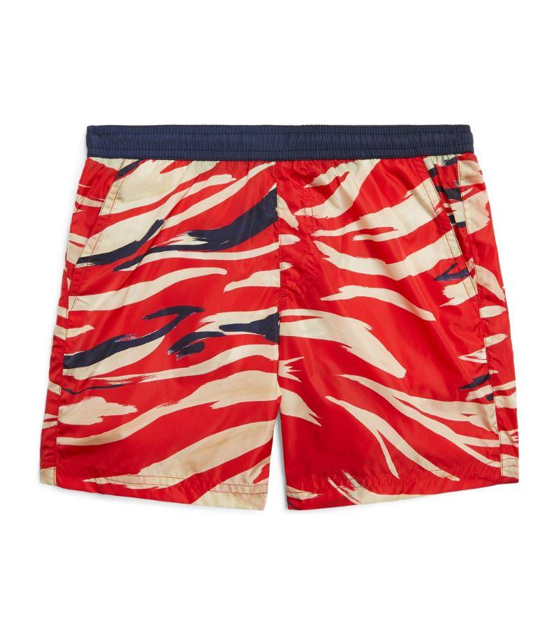 Moncler Enfant Camouflage Print Swim Shorts (4-6 Years)