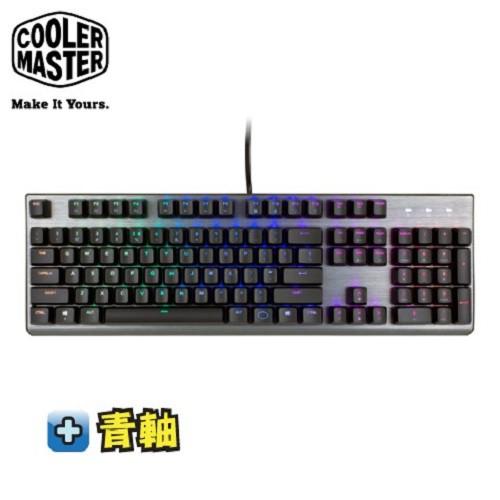 酷碼CoolerMaster CK350 RGB機械式鍵盤-青軸中文