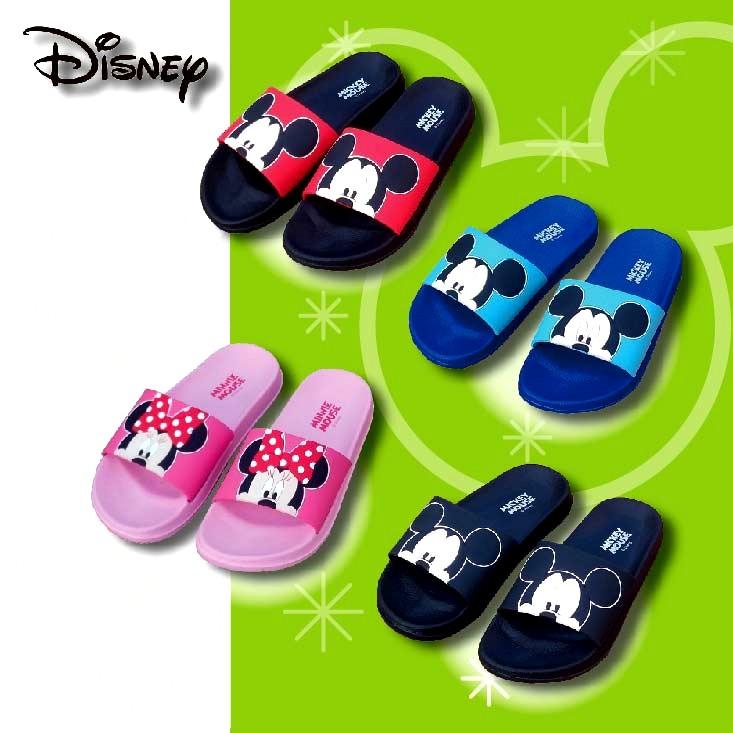 (e鞋院)歡樂迪士尼米奇米妮拖鞋-男女款