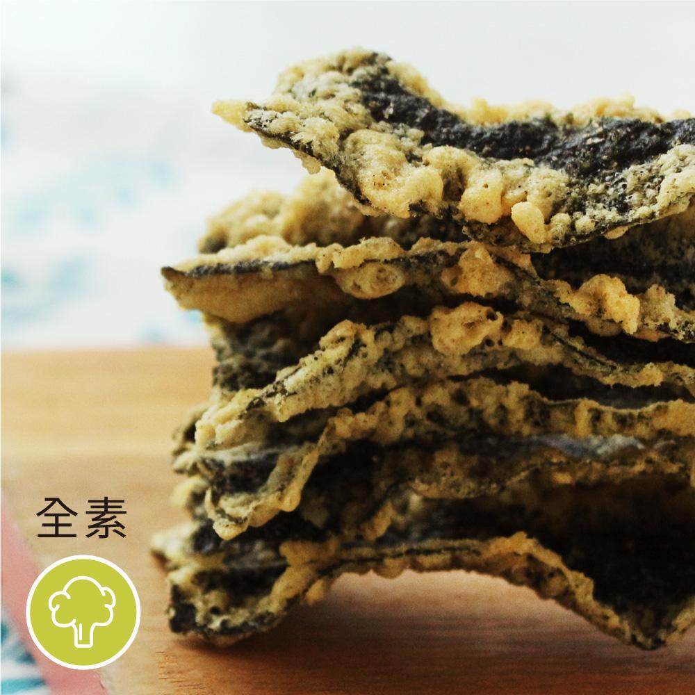 [小浣熊]海苔天婦羅脆餅 (原味/香辣/40克)