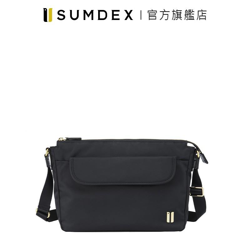 Sumdex|輕巧型斜肩包 NOA-781BK 黑色 官方旗艦店
