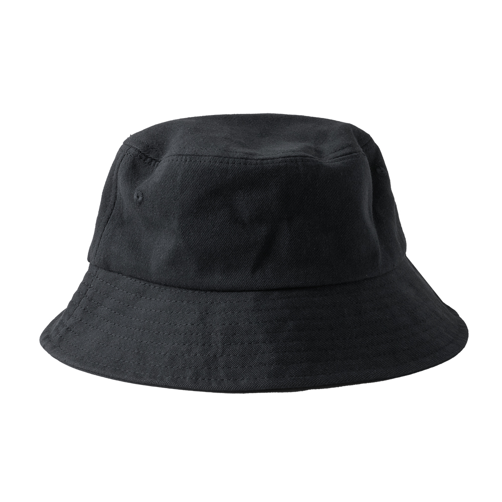 【日韓簡約】素色漁夫帽 遮陽帽 帽子 盆帽 運動 防曬 戶外 登山 休閒 男女 潮流 (經典黑)