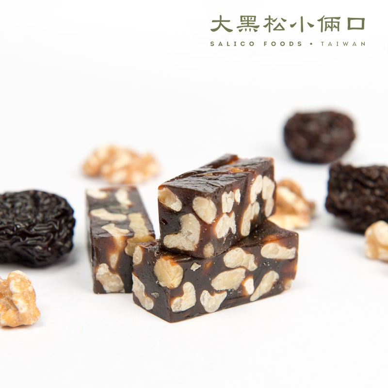 【大黑松小倆口/即期品0501】經典牛軋糖 - 南棗核桃糕230g