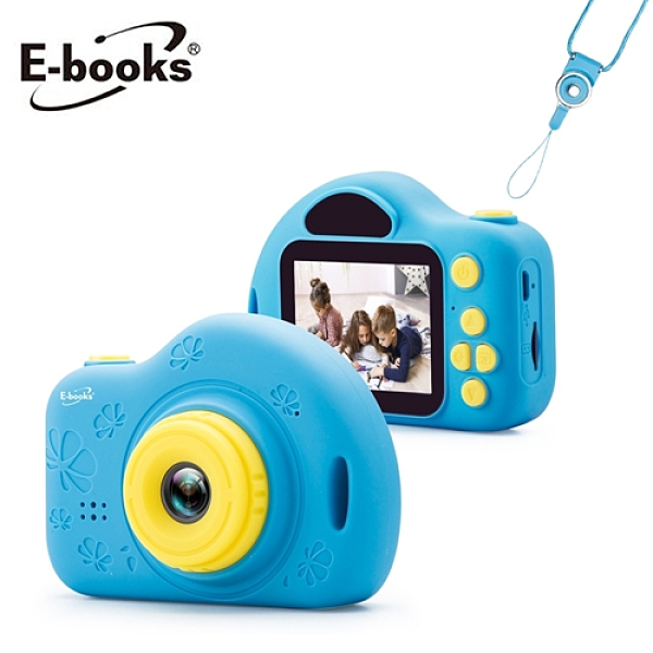【E-books】P1 兒童數位相機(藍)