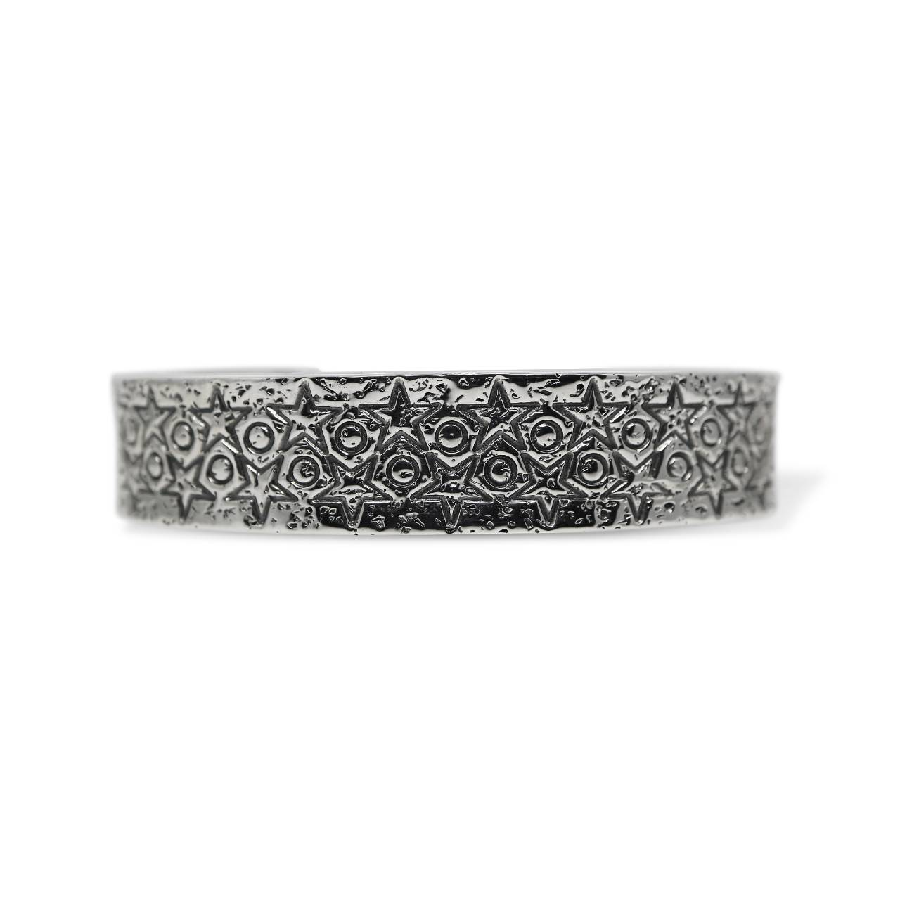 1.5CM STAR STAMP CUFF [USD $2120]