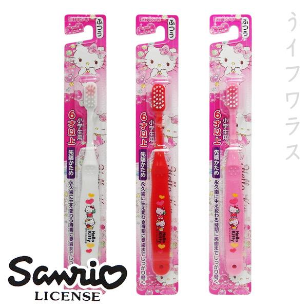 日式卡通兒童牙刷-Hello Kitty-6才以上