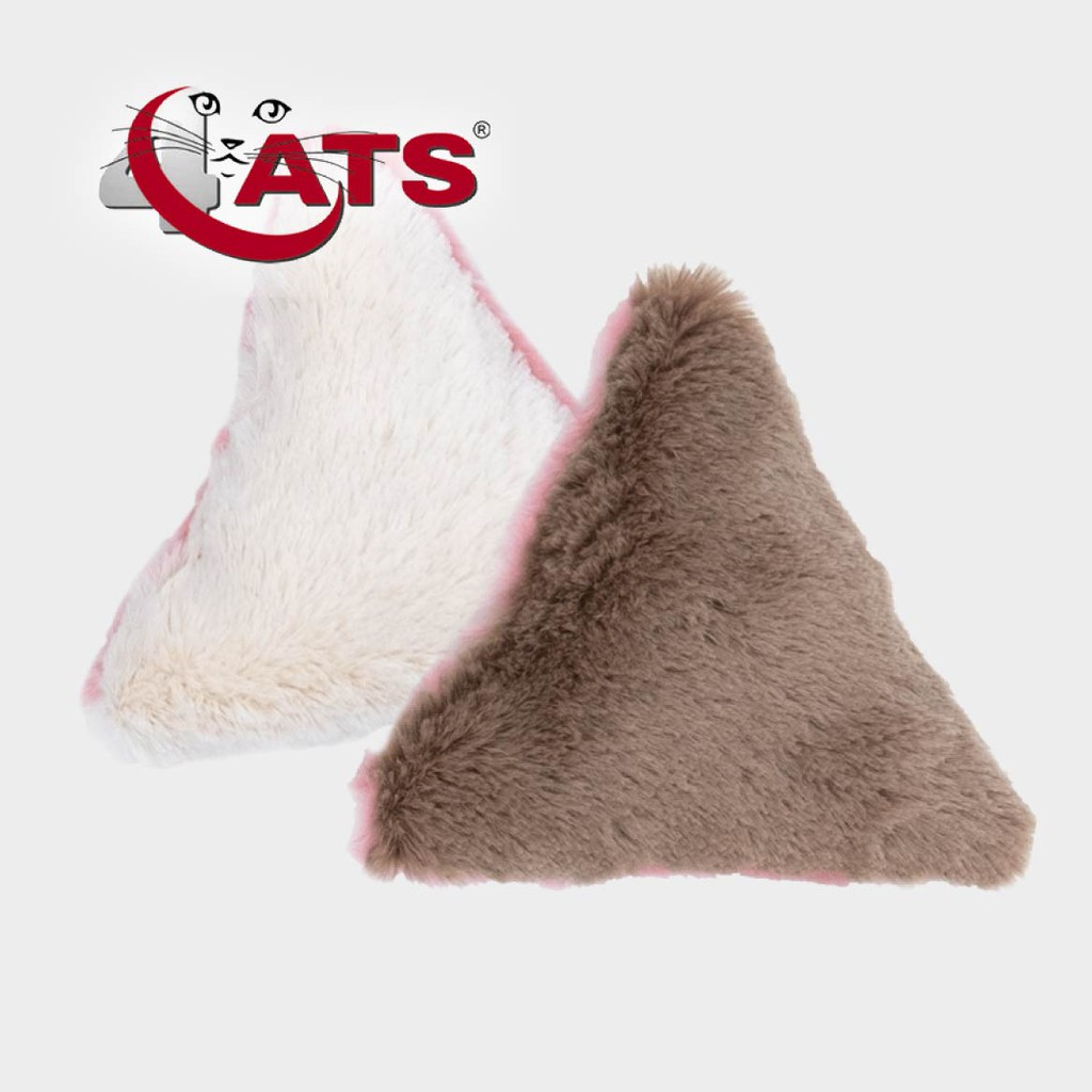 【4cats】德國天然貓草三角抱枕(貓薄荷)