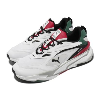 Puma 休閒鞋 RS Fast Mix 男女鞋 流行 厚底 緩震 穿搭推薦 白 黑 37564101