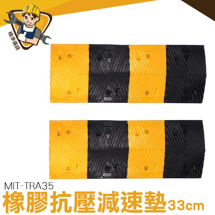 減速板 橡膠減速 路面減速 3cm厚減速板 減速帶 台灣現貨 MIT-TRA35 限速板