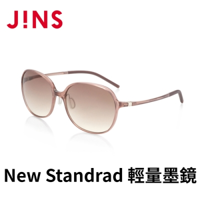 JINS&SUN New Standrad 輕量墨鏡(ALUF21S101) 淺粉棕