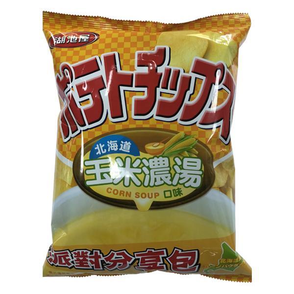 湖池屋洋芋片-北海道玉米濃湯 【康是美】