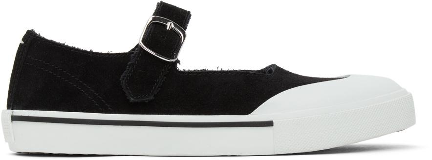 Maison Margiela 黑色 Sporty 芭蕾鞋
