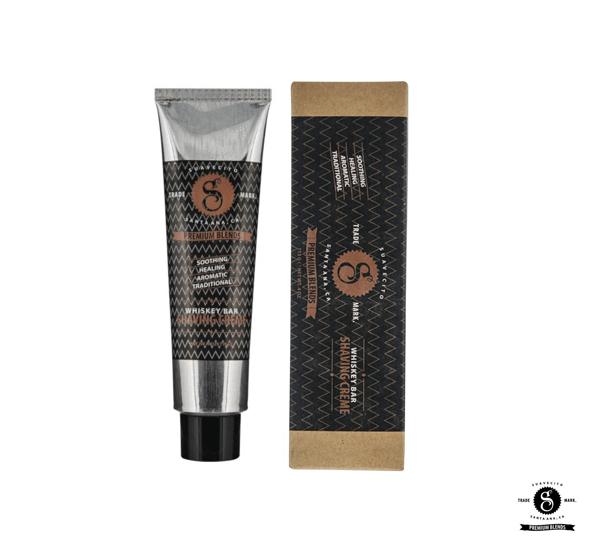 【紅心推薦】Suavecito Premium Blends Whiskey Bar Shaving Creme威士忌刮鬍乳(4oz)