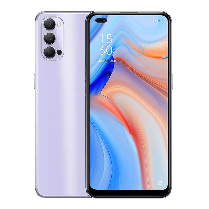 《香芋紫限定版》OPPO Reno4 (CPH2091) (8G/128G) 5G全頻超級動態夜景超級閃充手機