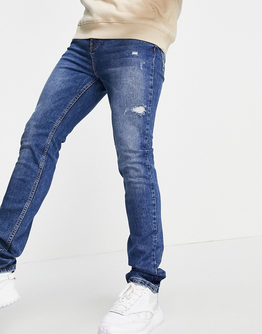 Aeropostale slim fit jeans-Blue