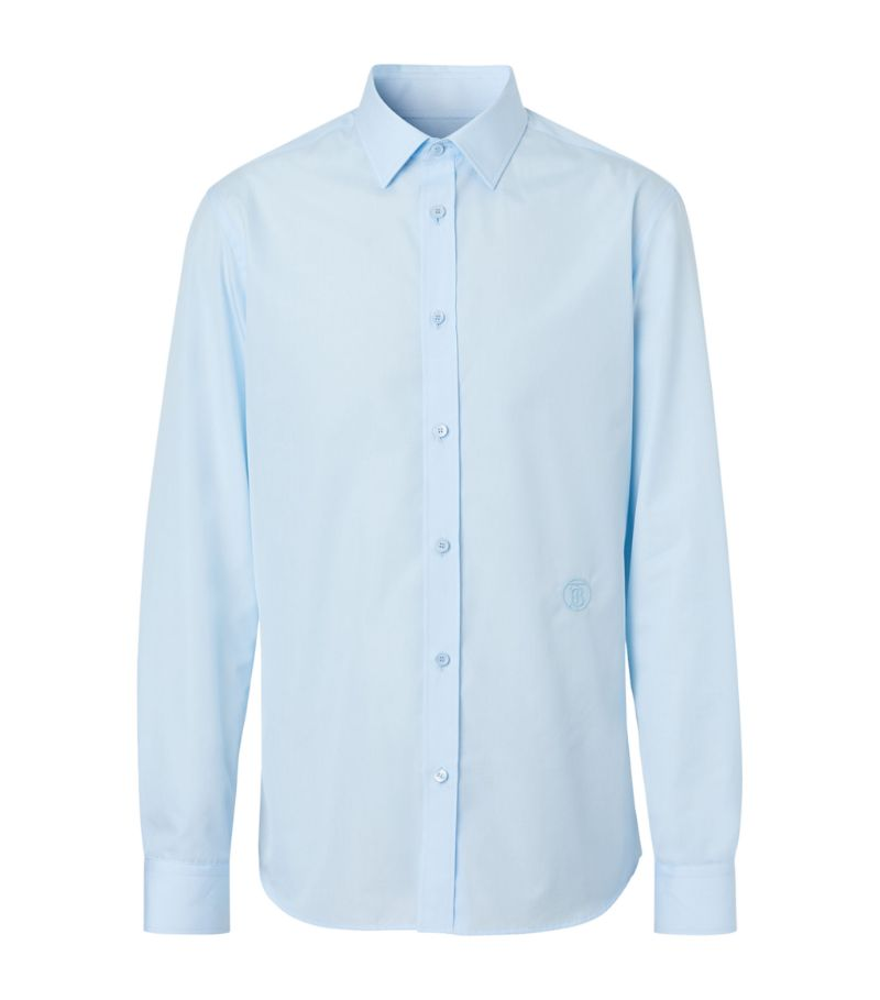 Burberry Monogram Cotton Poplin Shirt