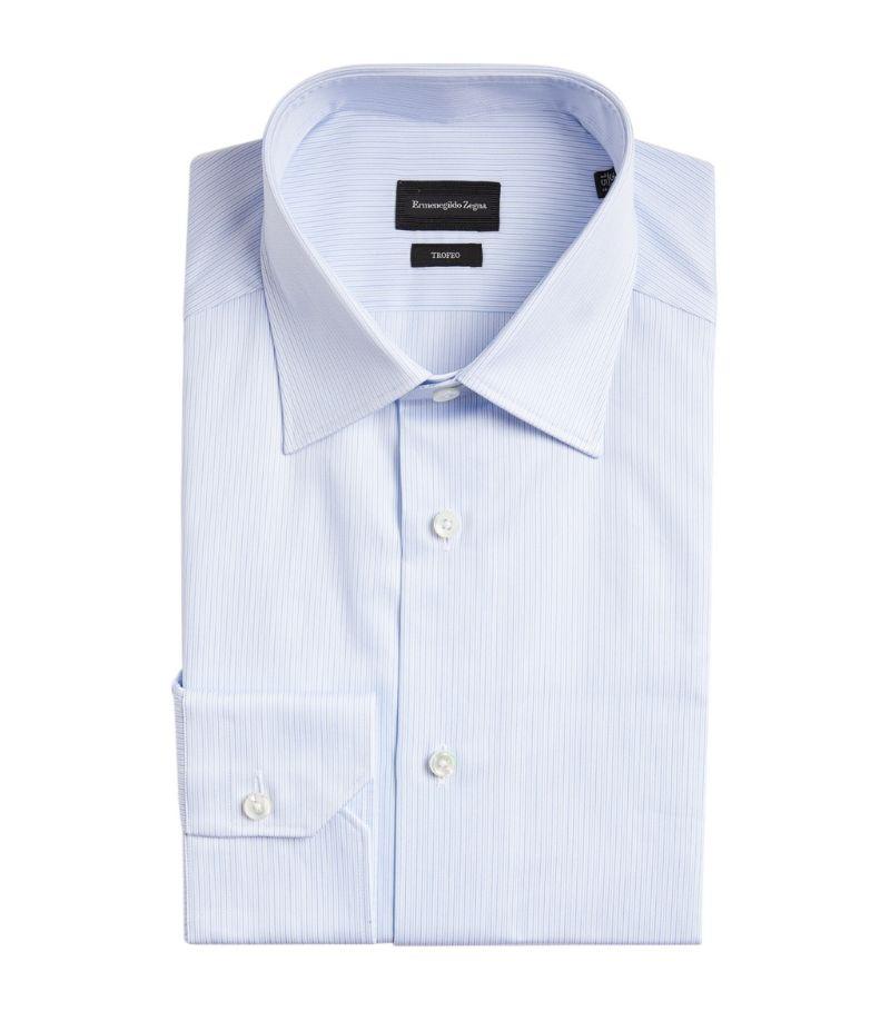 Z Zegna Fine Striped Shirt